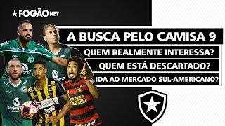 Botafogo busca camisa 9 para 2021 | Anselmo Ramon, He-Man, Fernandão, Alef Manga e Brocador no radar