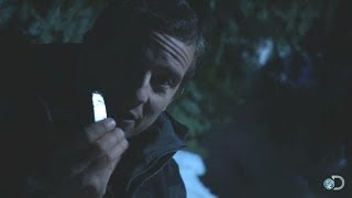 Gum Wrapper + Battery = Fire | Bear Grylls: Escape From Hell
