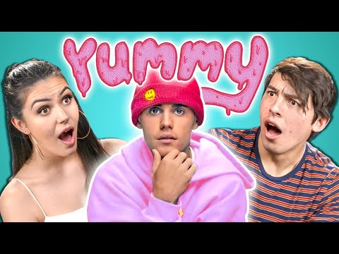 College Kids React To Justin Bieber - Yummy (Official Video)