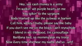 Beyonce - Soldier, Lyrics In Video