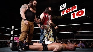 Top 10 Raw moments: WWE Top 10, September 7, 2015