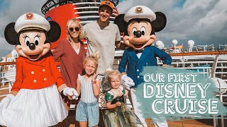FIRST CRUISE ON THE DISNEY DREAM WITH MICKEY AND MINNIE!!