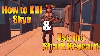 How to Kill Skye & Use the Shark Keycard in Chapter 2 Season 2 of Fortnite
