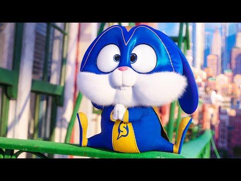 Snowball's Superhero Moves Scene - THE SECRET LIFE OF PETS 2 (2019) Movie Clip