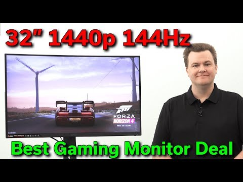 $400 — 32″ MSI 1440p 144Hz — 1ms Curved — Epic Gaming
