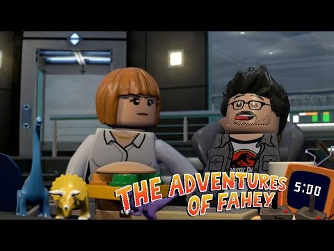 The First Five Minutes Of LEGO Raptor Bros And Friends