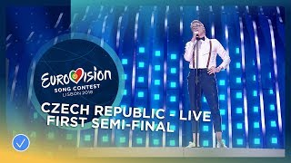 Mikolas Josef   Lie To Me   Czech Republic   LIVE   First Semi Final   Eurovision 2018