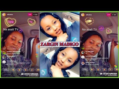 ZARGIN MADIGO YA KARE: Ga sabon videon da Hadiza_Gabon ta saki wanda yaja cecekuce tsakanin Jarumai