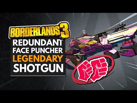Borderlands 3 Best Weapons | Redundant Face Puncher Legendary Shotgun