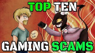 Top Ten Gaming Scams ft. ThatCreepyReading
