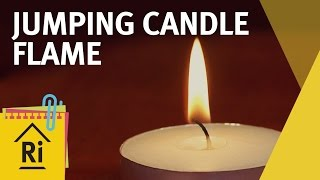 Science for kids - Jumping candle flame experiment - ExpeRimental #13
