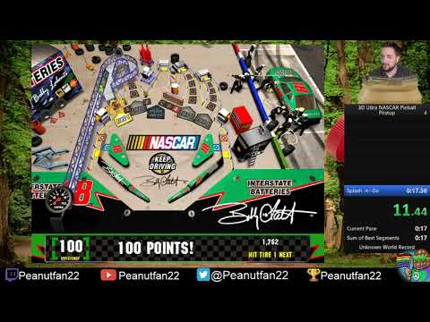 3D Ultra NASCAR Pinball (Pitstop) 11.733