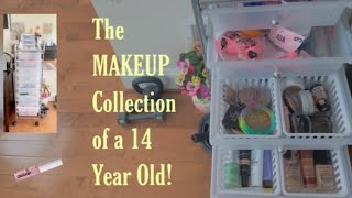 MAKEUP COLLECTION Of A 14 Year Old!💄