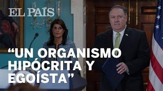 EE UU deja el Consejo de Derechos Humanos de la ONU