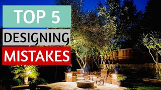 Landscape Lighting Design MISTAKES - Most Common Designing Mistakes You Dont Want To Make