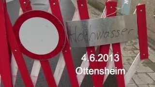 preview picture of video 'Hochwasser 2013 06 04'