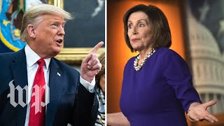 Trump and Pelosi clash over faith