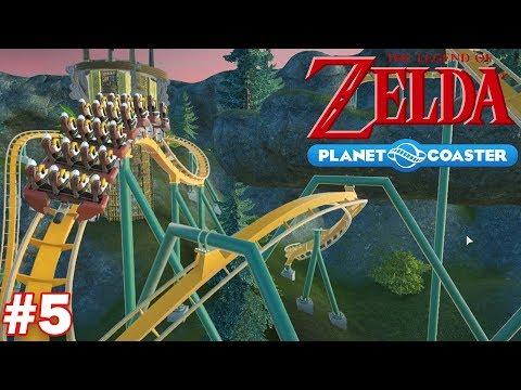 Let's Build a Legend of Zelda Roller Coaster - Part 5 (Breath of the Wild)
