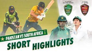 Short Highlights | South Africa vs Pakistan | 3rd T20I 2021 | PCB | ME2E