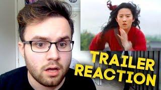 Disney's Mulan   Official Teaser Trailer REACTION