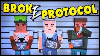 Broke Protocol - GRANDPA GOES ON A RAMPAGE! GTA V + Unturned - Let's Play Broke Protocol Gameplay