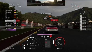 Gran Turismo sport online daily race 25 laps