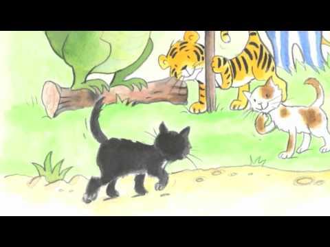 """Digitales Kinderbuch """"Katharina die kleine Katze - Kürbissuppe und eine dicke Fete"""""""