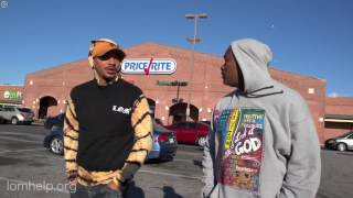 Hollow Da Don Helps Out in Baltimore | URLTV