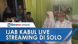 Nekat Menikah di Tengah Pandemi Virus Corona, Pengantin di Solo Gelar Live Streaming Ijab Kabul