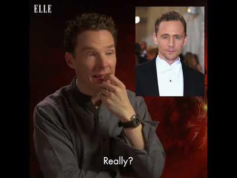 Benedict Cumberbatch Does Impressions Of His Co-Stars (видео)