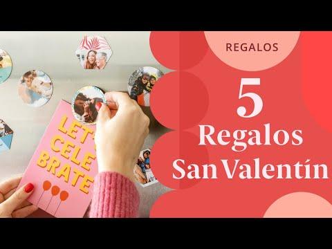 Video - Ideas para regalar en San Valentín con fotos