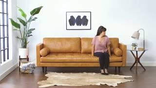Briar Leather Sofa From Joybird