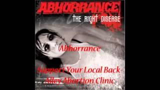 Abhorrance - Support Your Local Back-Alley Abortion Clinic