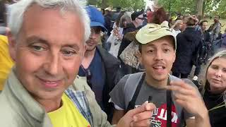 Live - Hyde Park Protest 4th July 2020