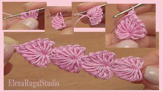 Crochet Mini Hearts String Tutorial 112