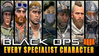 Every Specialist Character In Call of Duty Black Ops 4 (COD BO4 All Specialists)