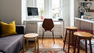 Interior Design — An Interior Designers Own Home Office And Attic Addition
