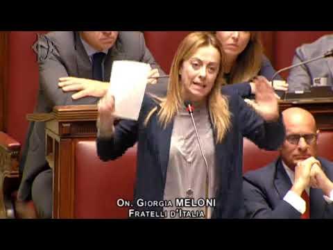 Giorgia meloni ora in diretta dalla camera dei deputati for Camera dei deputati diretta video