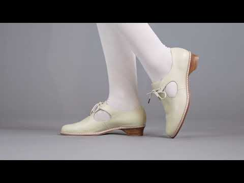 PRE-ORDER Mary Women's Renaissance Shoes (Ivory)