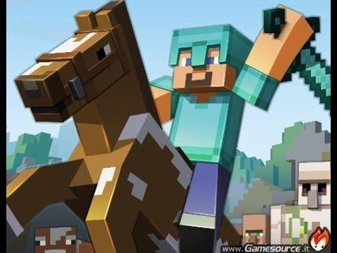 Come addestrare e cavalcare i cavalli in minecraft + armature per loro!!!
