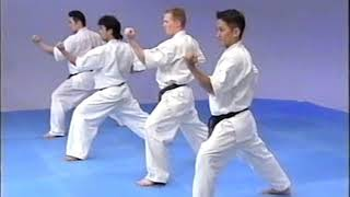 №2-5-4  Moving in #Kiba Dachi #Kyokushin #Karate #Encycklopedia #Киокушин #каратэ Энциклопедия