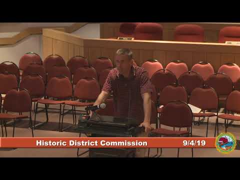 Historic District Commission 9.4.19