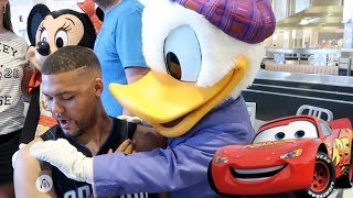 Donald Hated My Goofy Tattoo | Minnies Spring Time Dine Review | Lightning McQueens Racing Academy
