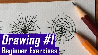 Two Drawing Exercises to Improve your Skills Immediately (Warm-up + Isolating Shapes)
