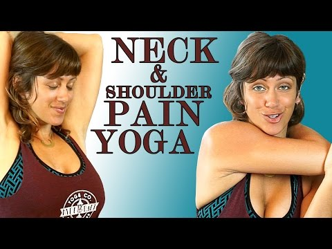 Video Neck & Shoulder Pain Relief Exercises & Yoga Stretches Jen Hilman