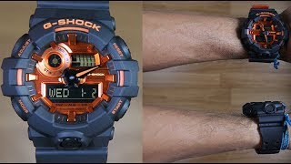 Jam Tangan Casio G-Shock Original Pria GA-700BR-1A