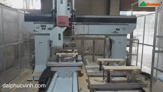 Máy Cnc 3d 5 Axis 4 Dao Woodmaster   Máy CNC 3D 5 Trục   Đại Phúc Vinh CNC