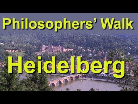 Philosophers Walk, Heidelberg, Germany
