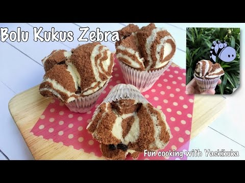 Video RESEP: Cara Membuat Bolu Kukus Zebra * Zebra Steam Cake