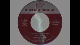 Andy Williams ‎– Canadian Sunset (1956)